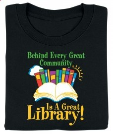 Library T-Shirt Sale